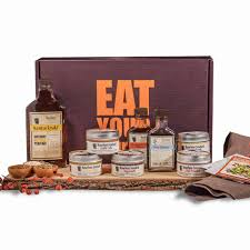 bourbon gift basket eat your bourbon gourmet original gift box bourbon barrel foods