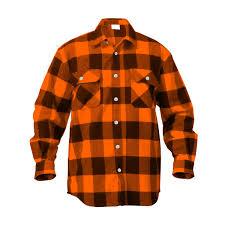 Flannel Shirts Heavyweight Brawny Flannel Shirt Buffalo Plaid Walmart