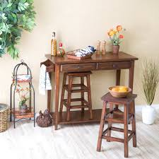 add your kitchen with kitchen island with stools midcityeast espresso breakfast kitchen island with stools ka1110 products