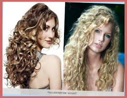 thin long permed hair new and latest spiral hairstyles for long hair regarding perms for