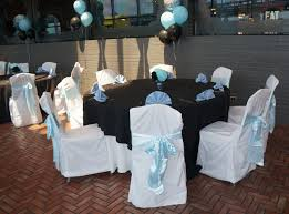 baby shower chair rentals table chair party rentals and baby shower decorations in blue