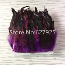 aliexpress com buy wholesale chicken purple tail feather edge