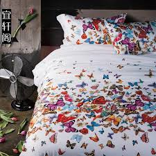 Sizes Of Duvet Covers 3d Butterfly Bedding Set Queen Size Duvet Cover Bedspread