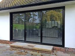 Installing Interior Sliding Doors Installing Sliding Patio Door New Opening Milgard Glass