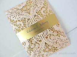 wedding invitations lace laser cut wedding invitation lace laser cut wedding invite lace