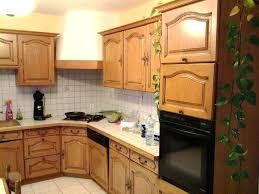 cuisine a cuisine en chene massif cuisine equipee chene serenite cuisine en