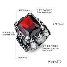 man steel rings images Tengyi punk 316l stainless steel ring vintage men 39 s finger rings jpg