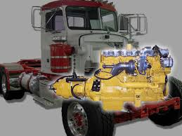 caterpillar engines kustom truck