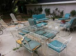 Patio Furniture Wrought Iron by 1326 Best Vintage Wrought Iron Patio Furniture Images On Pinterest