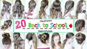 heatless hairstyles for thin hair school hairstyles wedding ideas uxjj me
