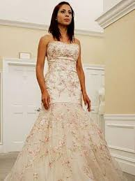 pink embroidered wedding dress pink lazaro wedding dress say yes to the dress naf dresses