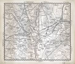 Washington Dc Area Map by Large Scale Detailed Old Road Map Of The Washington D C