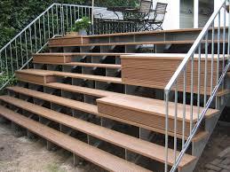 treppe bauanleitung terrasse mit treppe