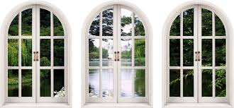 wall decal huge wall decals thousands pictures of wall huge 3d arched window enchanted garden view wall stickers mural art
