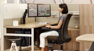 Knoll Office Desk Knoll Adjustable Keyboard Supports Human Solution