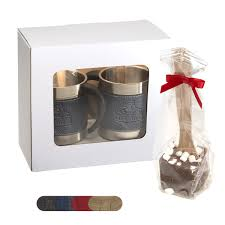 hot cocoa gift set casablanca coffee cups hot cocoa gift set
