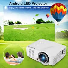 best projector home theater excelvan portable led wifi android projector 640 x 480 eu plug