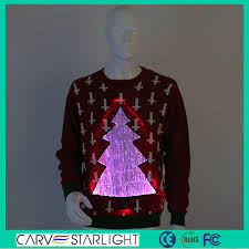 yq 89 light up led christmas clothes sweater