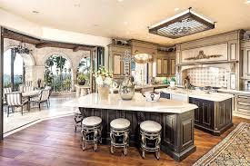 mediterranean kitchen high ceiling zillow digs fancy kitchens