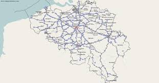 Germany Rail Map by Thematic Maps And City Maps Rail