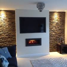feature wall ideas living room with fireplace creative and modern tv wall mount ideas for your room alcove