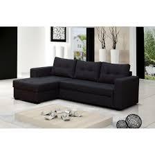 canape d angle 4 places canapé d angle 4 places lauris couleur noir ang achat vente
