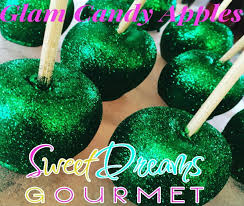gourmet candy apples wholesale glitter candy apples mini large sweet dreams gourmet