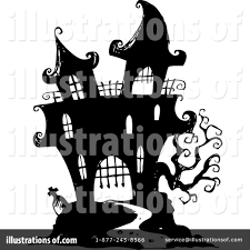 haunted house clipart 1124526 illustration by visekart