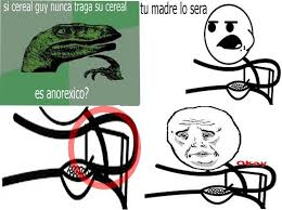 Cereal Guy Meme - cereal guy anorexico meme by anonymeme memedroid