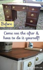 Chalk Paint Desk by Desk Rescue In Memphis Blue Memphis Desk Makeover And Desks