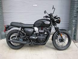 matte black 2017 triumph t100 black matte black the transportation