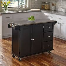 kitchen cart cabinet liberty kitchen cart w ss top homestyles