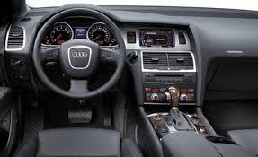 Audi Q7 Inside April 2013 Car Review Specification Images