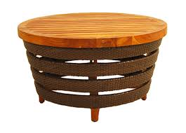 Resin Wood Outdoor Furniture by Fong Brothers Co Coffee Tables