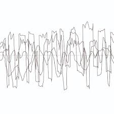 draw the sound wave by hand feng enjoy arts