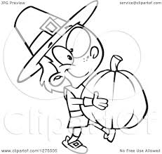 pilgrim boy book clipart of a black and white happy pilgrim boy carrying a