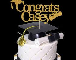 graduation cake toppers items similar to aggie graduation cake and cake toppers petroleum