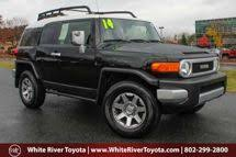 2014 Toyota Fj Cruiser Interior Used Toyota Fj Cruiser White River Junction Vt