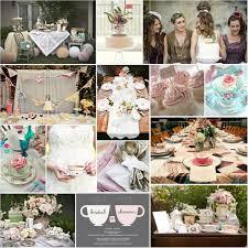 tea party bridal shower pretty tea party bridal shower