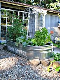 galvanized planters trough planters galvanized tub planter