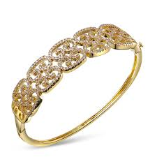 bangle gold color plated fashion jewelry ornaments exquisite pattern