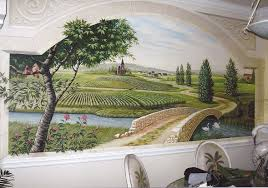 french countryside mural french wallpaper murals ideal french door wall murals
