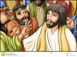 jesus christ and his disciples stock image image 6095931