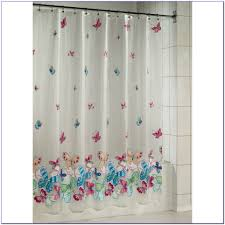 butterfly shower curtain msimioni orange butterfly shower curtain