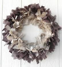 2014 wreaths decor ideas burlap wreath brown rustic shabby chic