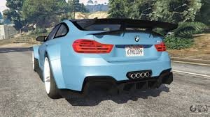 bmw m4 widebody bmw m4 f82 widebody for gta 5