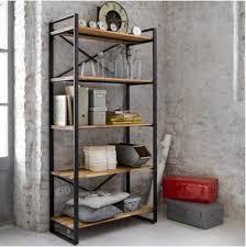 Cheap Wood Bookshelves by Online Get Cheap Industrial Bookshelves Aliexpress Com Alibaba