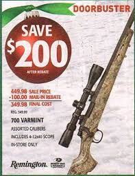 black friday gun deals black friday deals remington 700 for 349 98 at u0027s the
