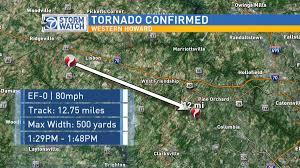 Tornado Map Howard County Tornado Mom U0027s Big Year