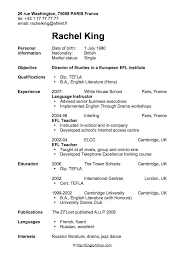 resume exles for objective section part time resumes objective on resume for first job exle of a